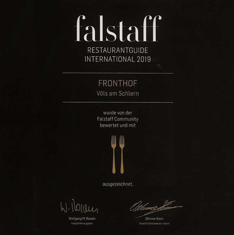 Auszeichnung Falstaff – Ratgeber für Genuss und Wein