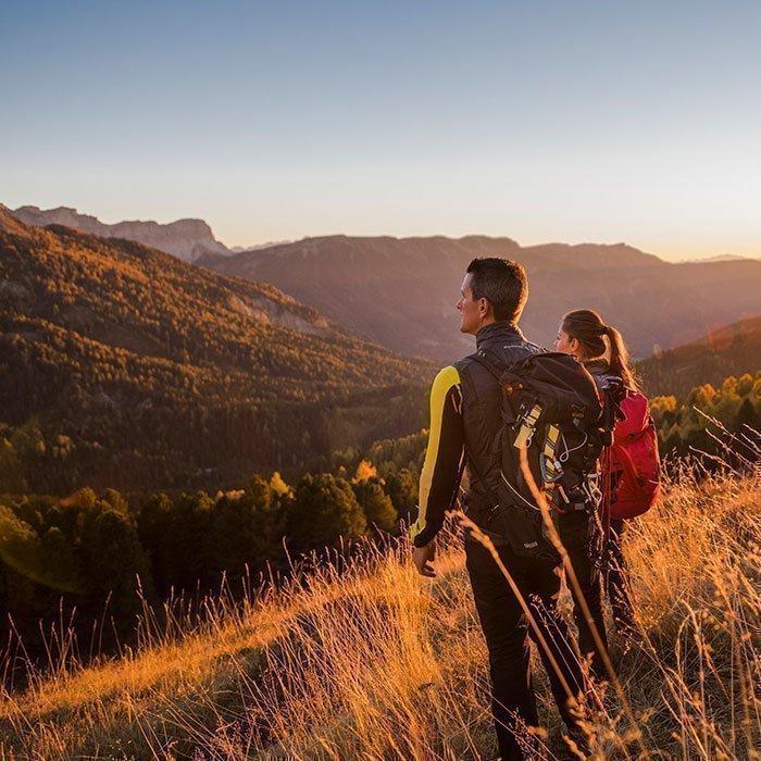 Ein fantastisches Erlebnis in der bunten Herbstlandschaft der Dolomiten