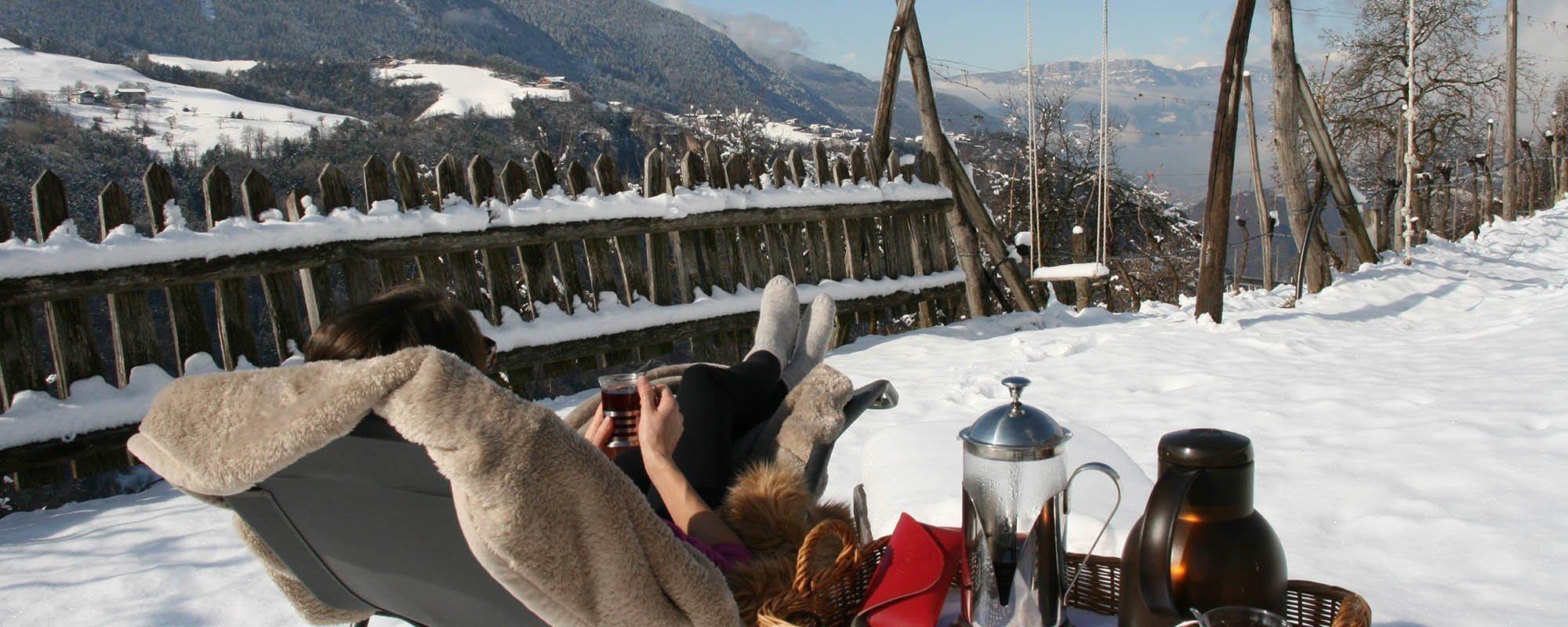 Winterurlaub in den Südtiroler Bergen